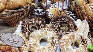 decoração pães